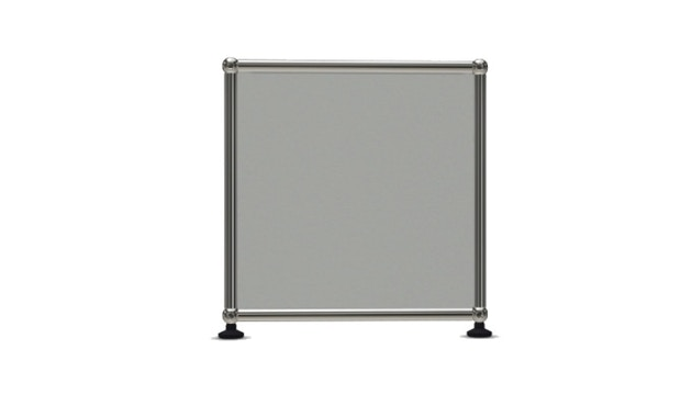 USM Haller - Board 4 x 1 element - Open - 29 lichtgrijs - 3