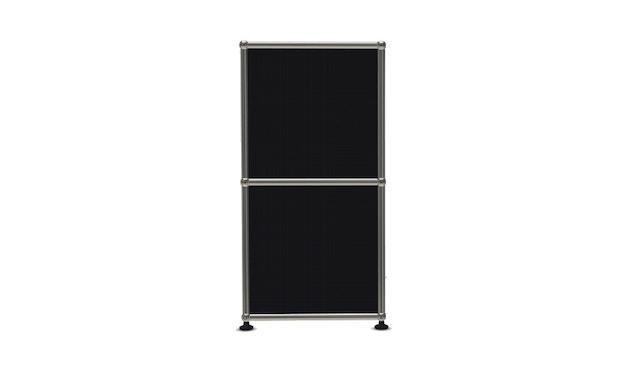 USM Haller - Board 4 x 2 éléments - ouvert - 30 noir graphite - ouvert - 3