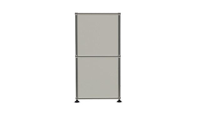 USM Haller - Board 4 x 2 éléments - ouvert - ouvert - 24 blanc pur - 3