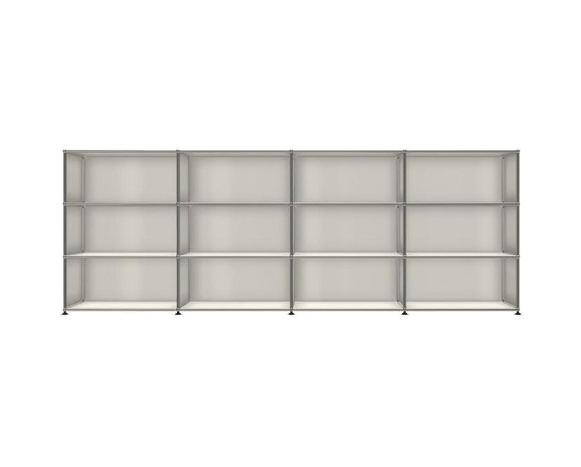 USM Haller - Board 4 x 3 elementen - Open - Open - Open - 24 zuiverwit - 1