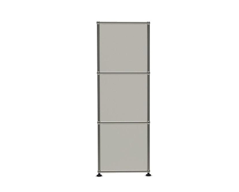 USM Haller - Board 4 x 3 elementen - Open - Open - Open - 24 zuiverwit - 3