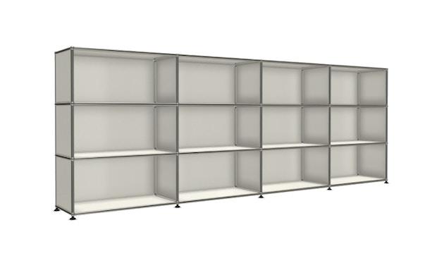 USM Haller - Board 4 x 3 elementen - Open - Open - Open - 24 zuiverwit - 4