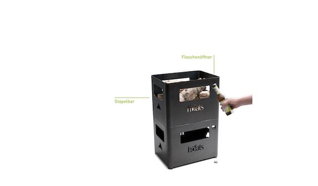 Höfats - BEER BOX Bierkiste / Feuerkorb / Grill / Hocker / Beistelltisch - 16