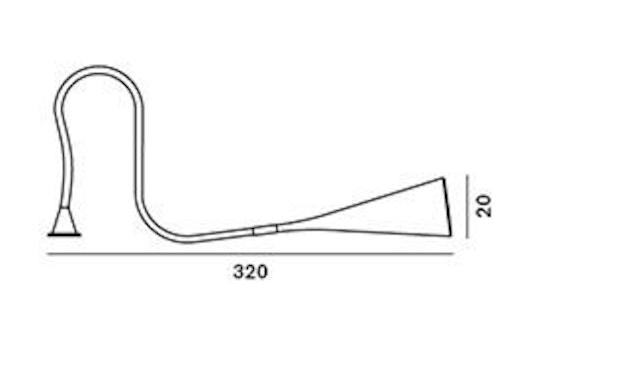 Foscarini - UTO pendellamp - geel - 13