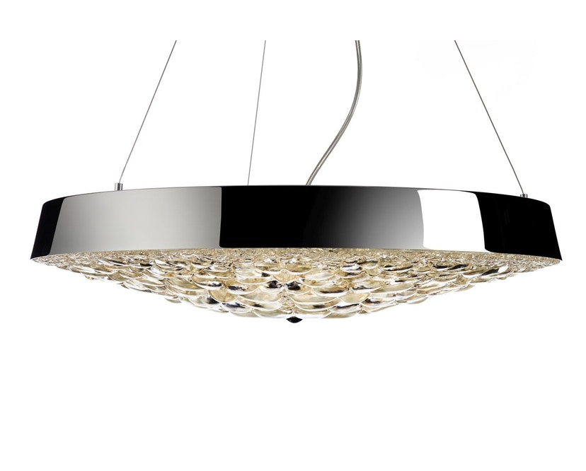 Moooi - Valentine Flat LED-Pendelleuchte - Chrom - 1