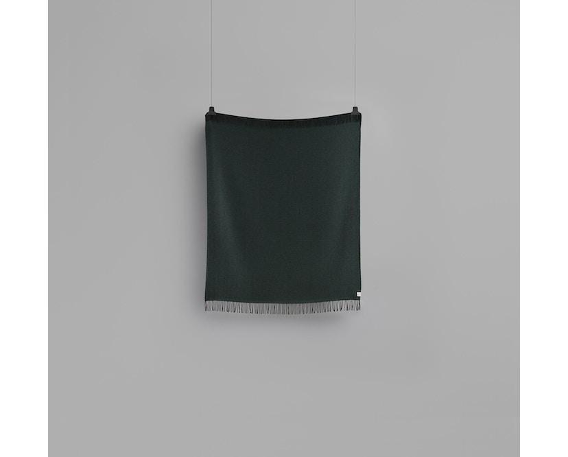 Roros Tweed - Vega Decke - dark green - 2