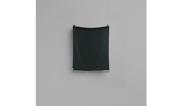 Roros Tweed - Vega Decke - dark green - 3