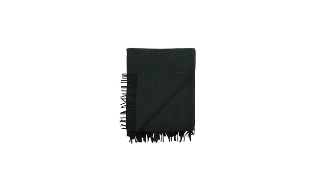Roros Tweed - Vega Decke - dark green - 1