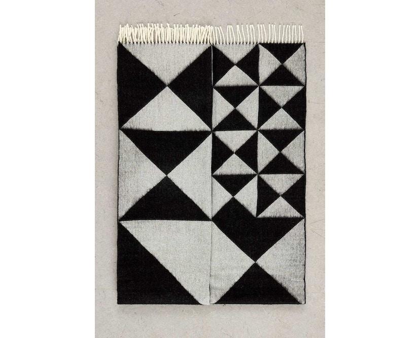 Verpan - Mirror Tagesdecke - schwarz - 2