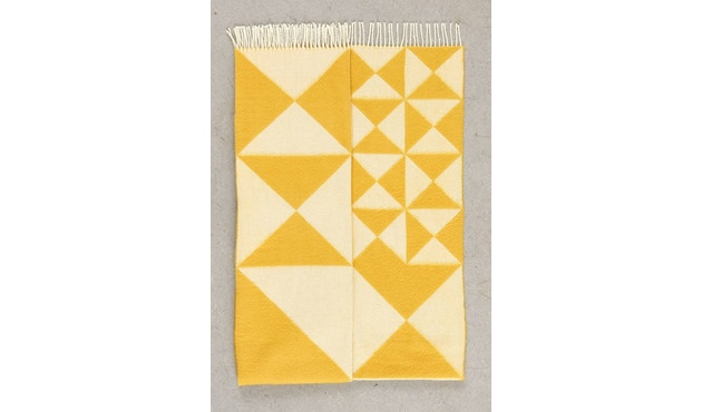 Verpan - Mirror Tagesdecke - gelb - 2