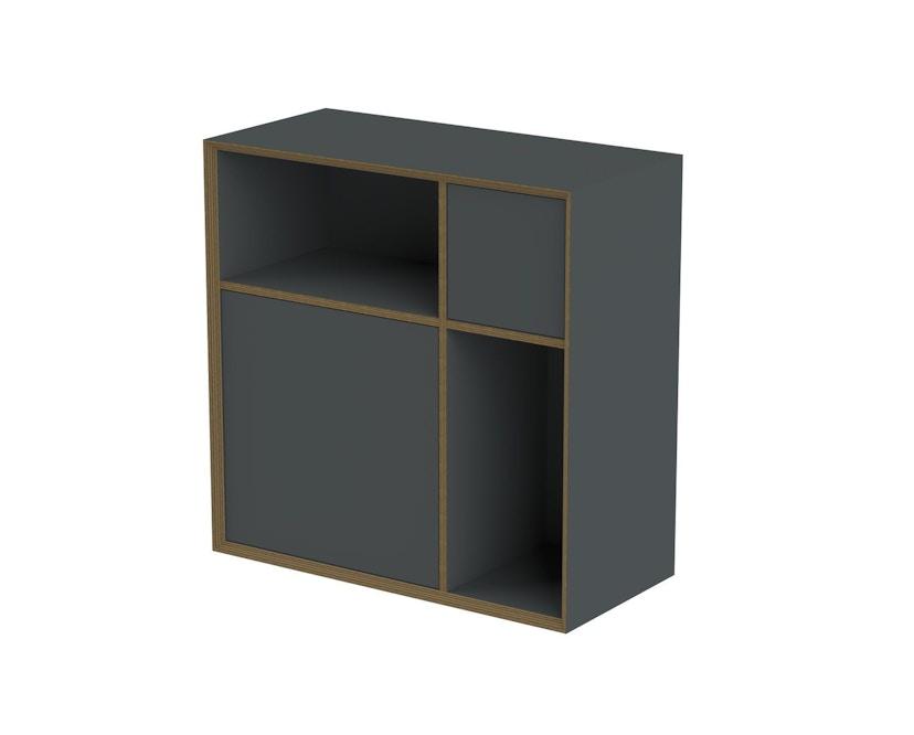 Müller Möbelwerkstätten - Vertiko Ply Regal - anthrazit - Variante: ONE - 1