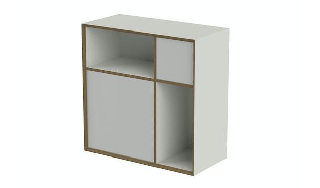 Müller Möbelwerkstätten - Vertiko Ply Regal - weiß - Variante: ONE - 1