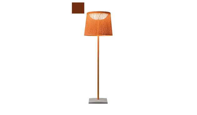Vibia - Wind Stehleuchte - schmal - ocre rot  - 2