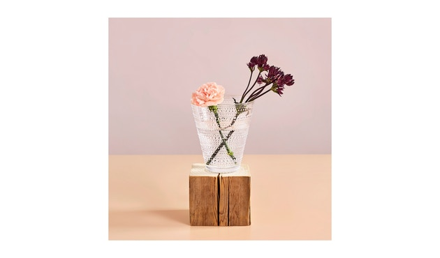 Iittala - Kastehelmi Vase - klar - 3