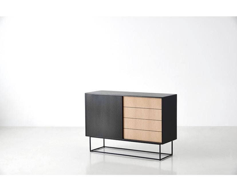Woud - Virka dressoir - zwart - hoog - 2