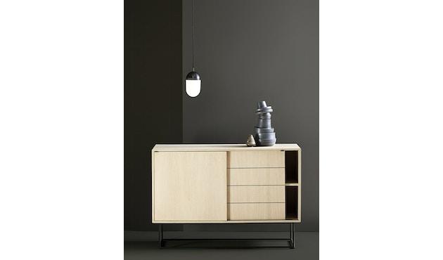 Woud - Virka dressoir - zwart - hoog - 3
