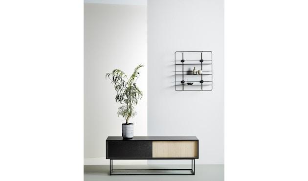 Woud - Virka dressoir - zwart - hoog - 4