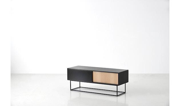 Woud - Virka dressoir - zwart - diep - 2