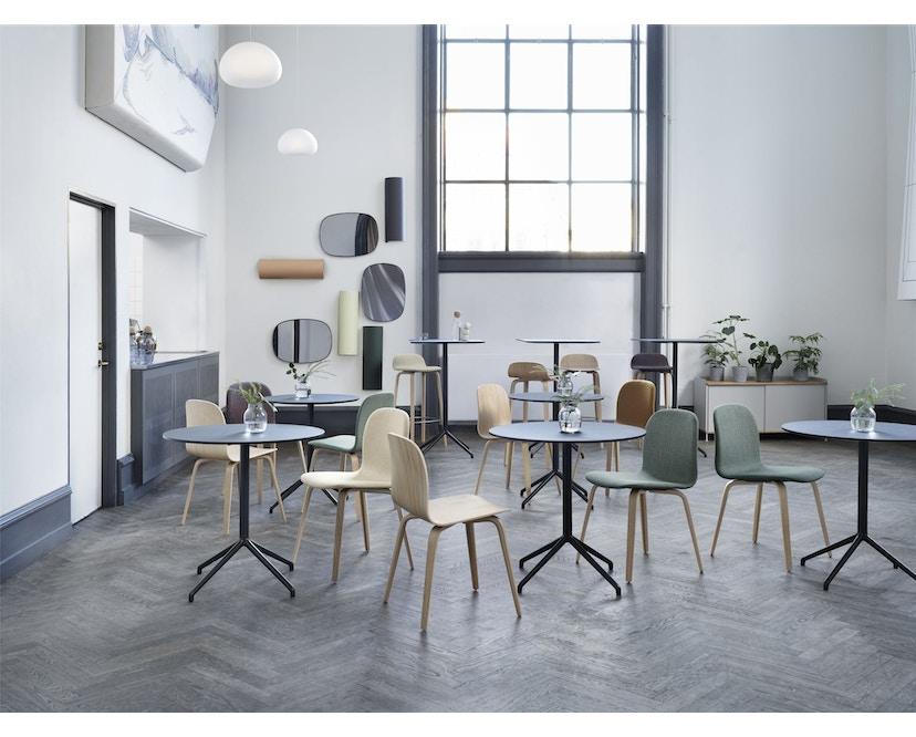 Muuto - Still Cafe Tisch rund - S - schwarz/weiß - 3