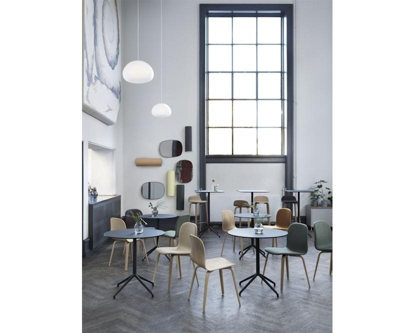 Muuto - Still Cafe Tisch rund - S - schwarz/schwarz - 4