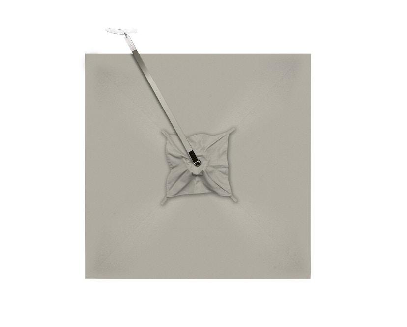 Tribù - Vitino Pendulum Sonnenschirm - quadratisch - nature grey - 6