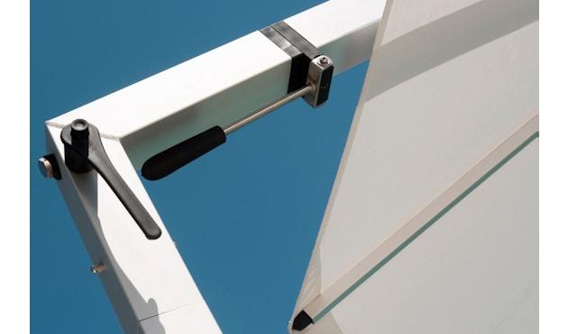 Tribù - Vitino Pendulum Sonnenschirm - quadratisch - white - 7
