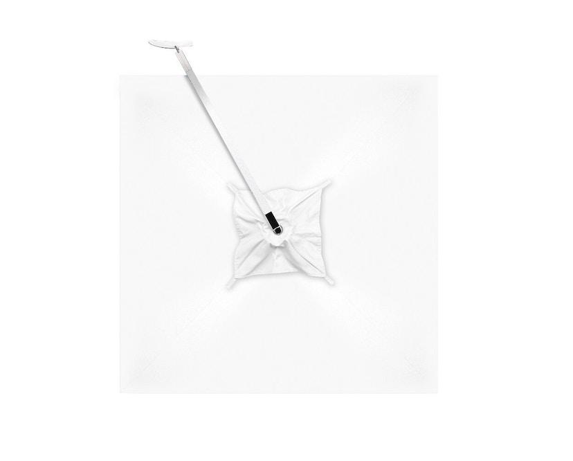 Tribù - Vitino Pendulum zonnescherm - vierkant - 01 Natté White - 4