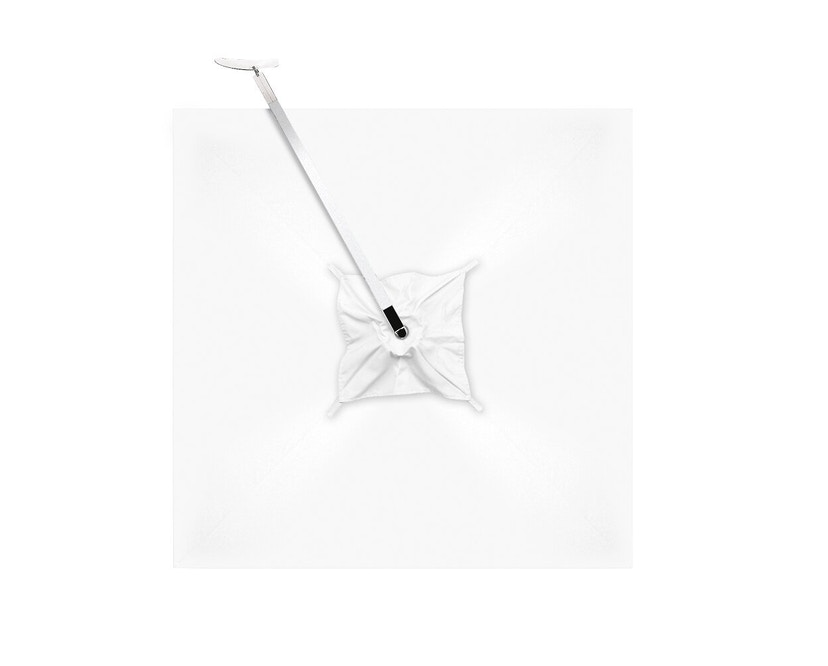 Tribù - Vitino Pendulum Sonnenschirm - quadratisch - white - 4
