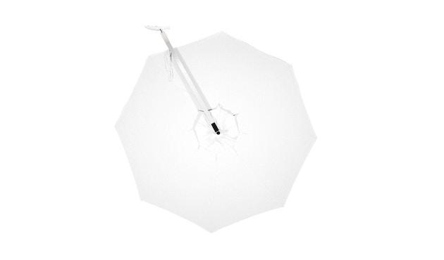 Tribù - Vitino Pendulum Sonnenschirm - rund - white - 1