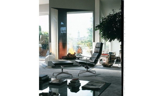 Vitra - Aluminium Chair - Soft Pad - EA 223 - Hocker - 4
