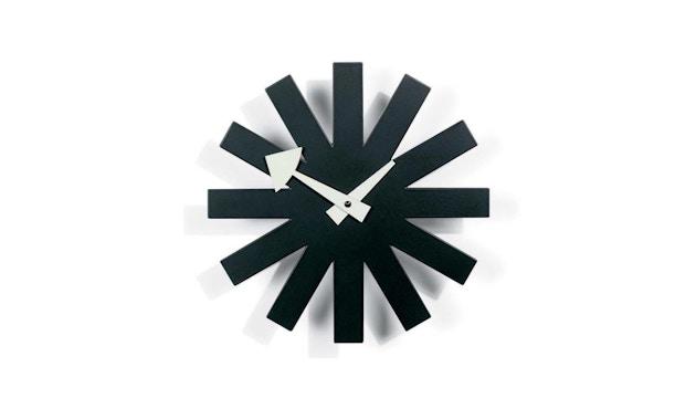 Vitra - Asterisk Clock - schwarz - 1