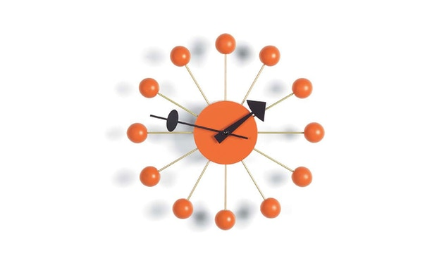 Vitra - Ball Clock - orange - 0