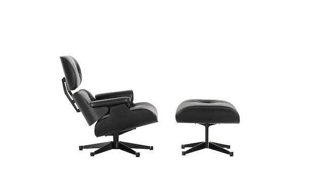 Vitra - Black Lounge Chair & Ottoman - XL - 1