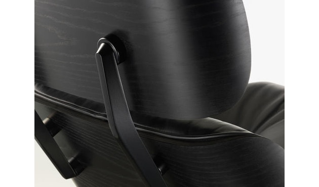 Vitra - Black Lounge Chair & Ottoman - 3