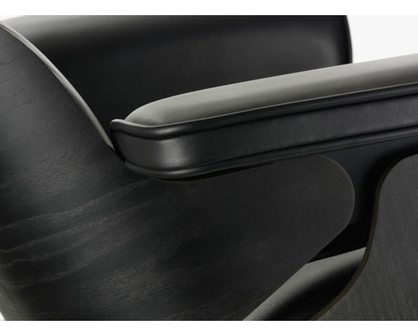 Vitra - Black Lounge Chair & Ottoman - 4