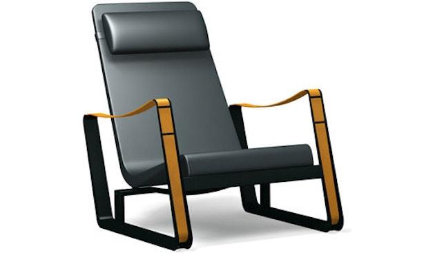 Vitra - Cité Sessel - Leder schwarz - tiefschwarz - 3