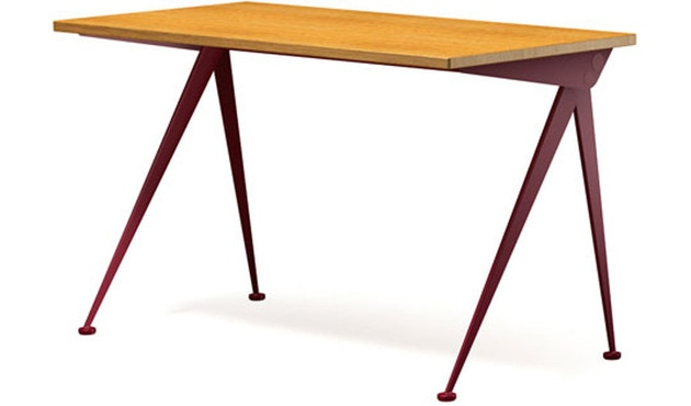 Vitra - Compas Direction - Eiche/japanese red - 1