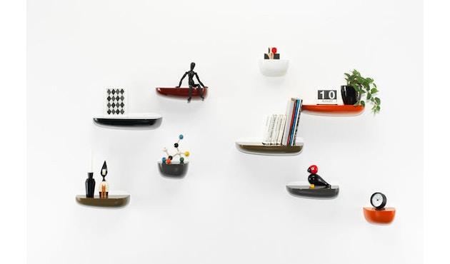 Vitra - Corniches wandplank - wit - klein 21,0 x 14,4 x 11,6 cm - 6