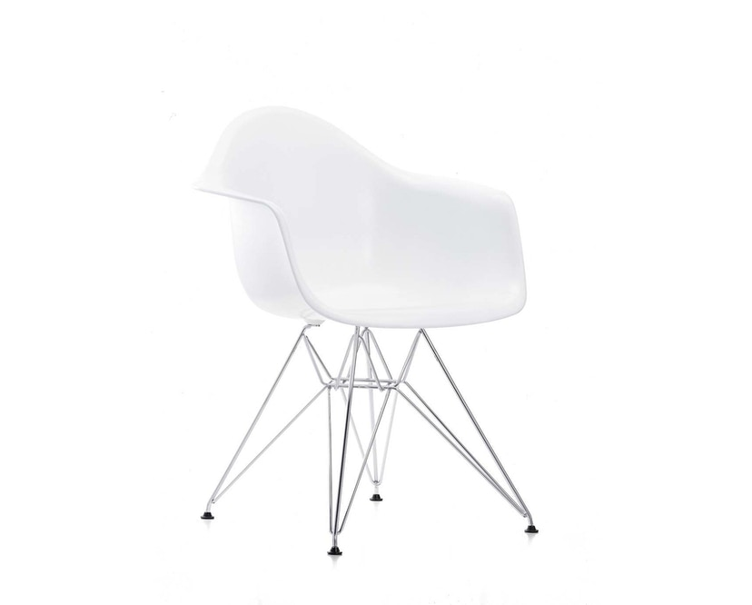 Vitra - DAR Eames Plastic Armchair - weiß - 1