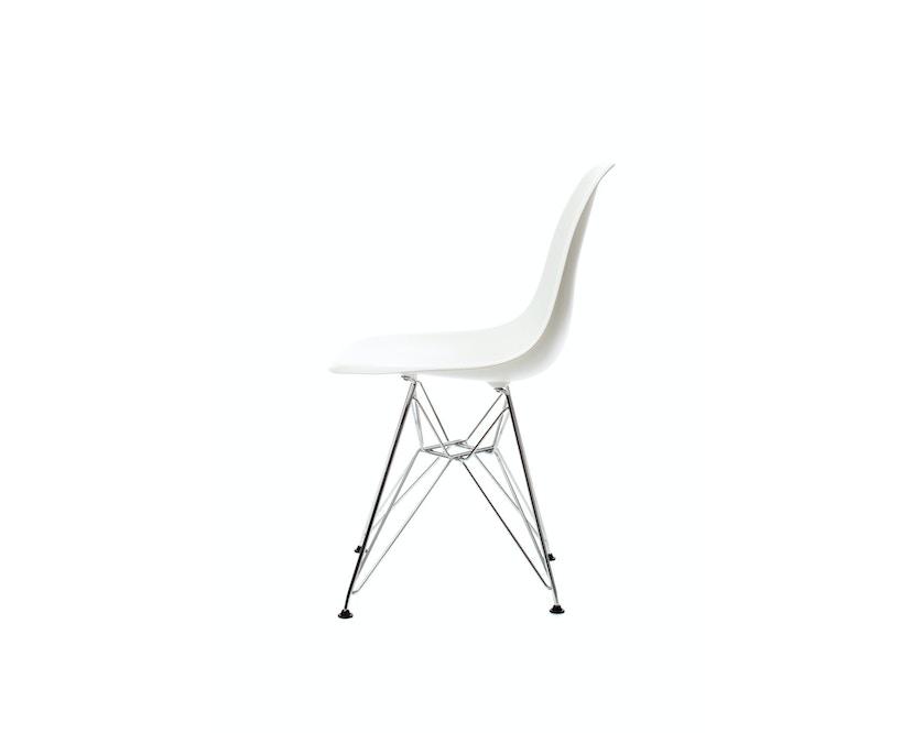 Vitra - DSR Eames Plastic Sidechair - weiß - Sitzhöhe 43 cm - 1