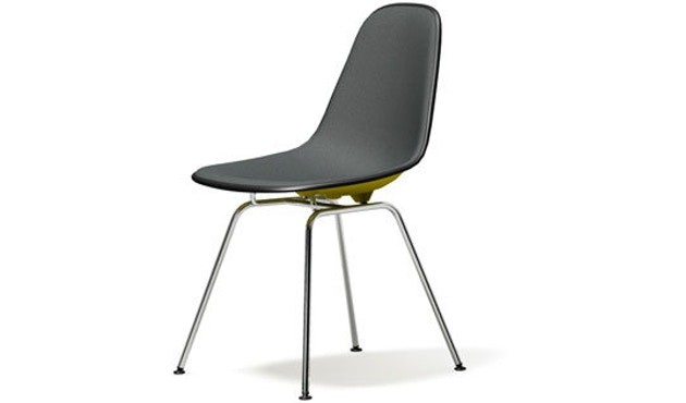 Vitra - DSX mit Vollpolster - senf - Sitzhöhe 46 cm - 1