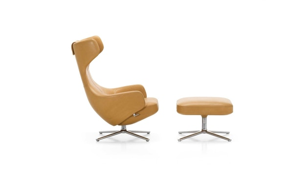 Vitra - Grand Repos Fauteuil & Ottomaanse Heruitgave - 3
