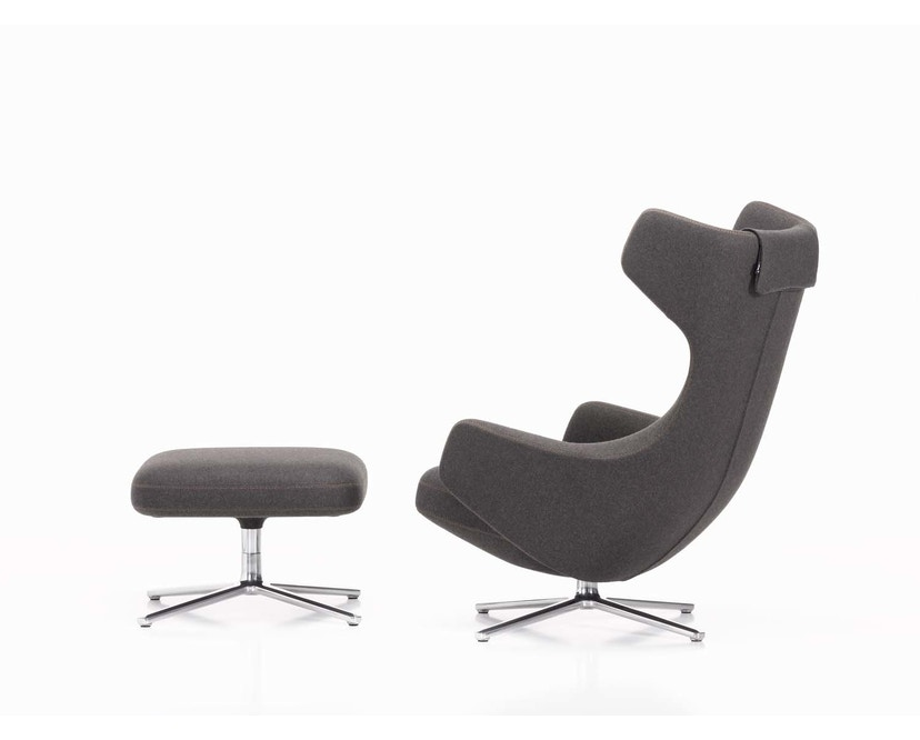 Vitra - Grand Repos Fauteuil & Ottomaanse Heruitgave - 4