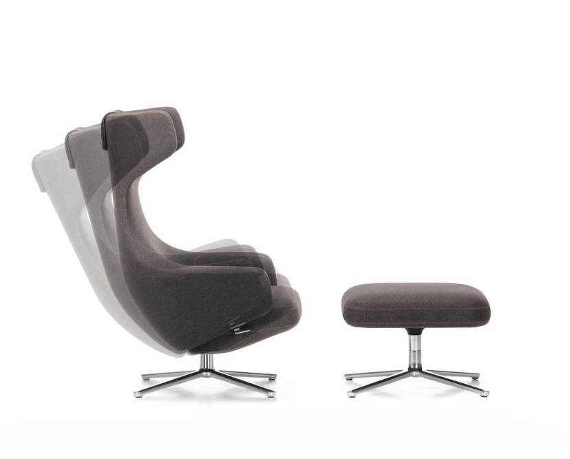 Vitra - Grand Repos Fauteuil & Ottomaanse Heruitgave - 5