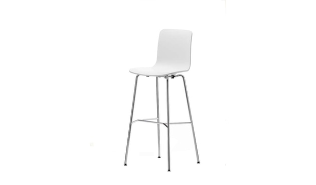 Vitra - Hal Stool high - wit - 1