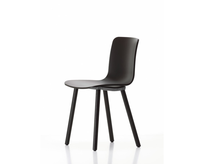 Vitra - Hal Wood - Stuhl - Eiche natur - weiß - 5