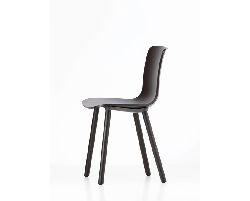 Vitra - Hal Wood - Stuhl - Eiche natur - weiß - 6