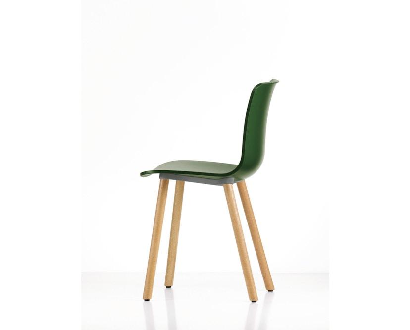 Vitra - Hal Wood - Stuhl - Eiche natur - weiß - 8