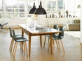 Vitra - Hal Wood - Stuhl - Eiche natur - weiß - 9