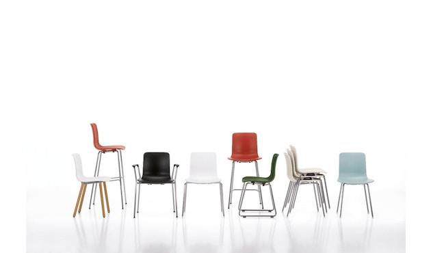 Vitra - Hal Wood - Stuhl - Eiche natur - weiß - 10
